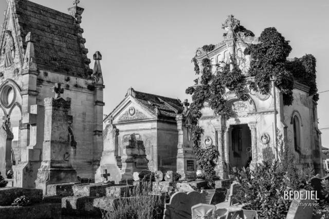 Photo cimetière par Bedejiel Photographie Gard