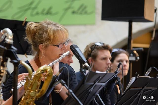Portrait flutiste jazz concert