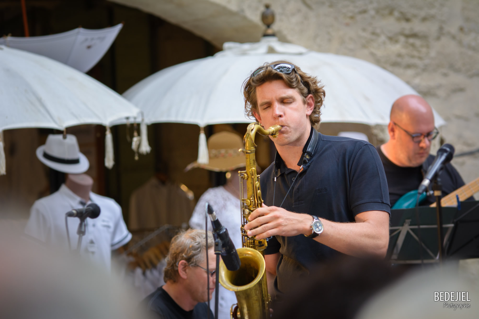 Portrait musicien jazz