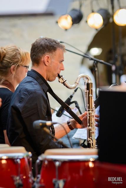 Portrait saxophoniste concert jazz