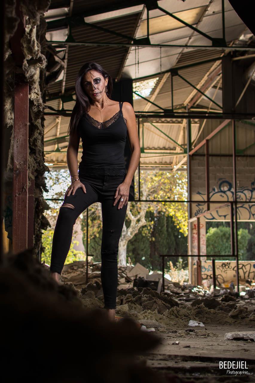 Portrait femme dark
