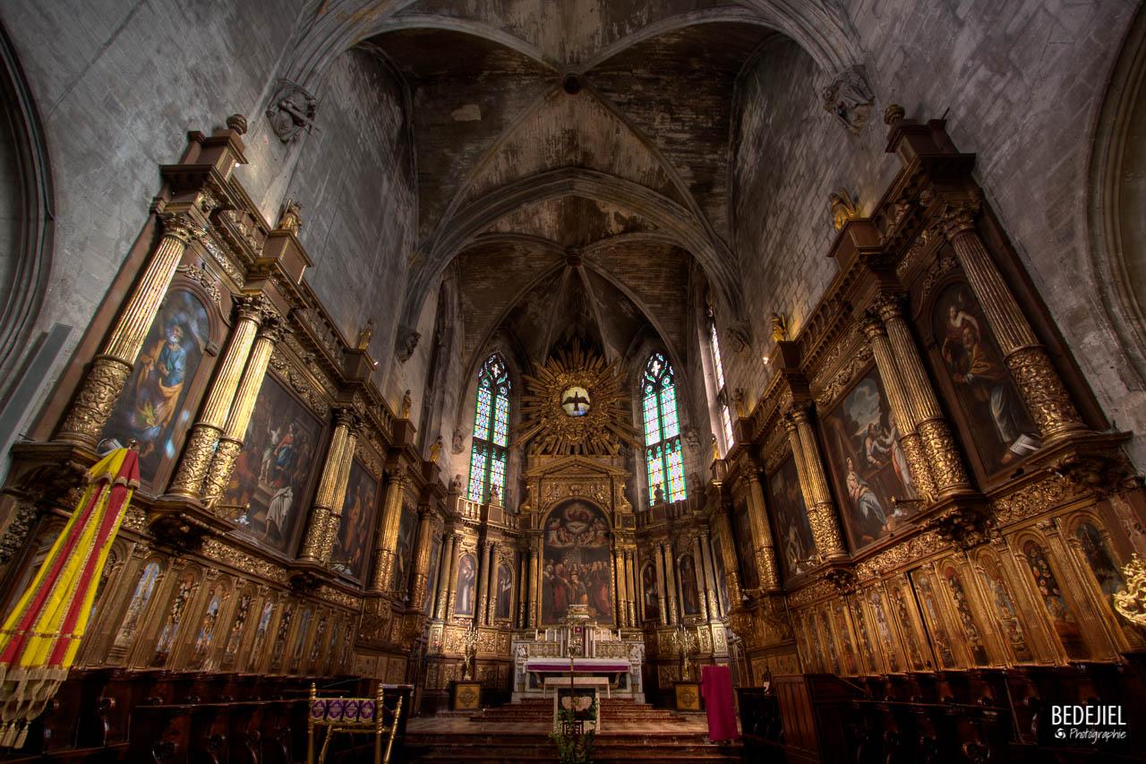 Avignon - Autel Eglise