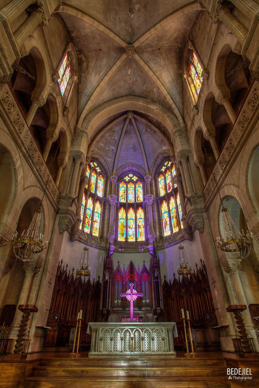 Autel Eglise Sainte Perpétue - Nimes