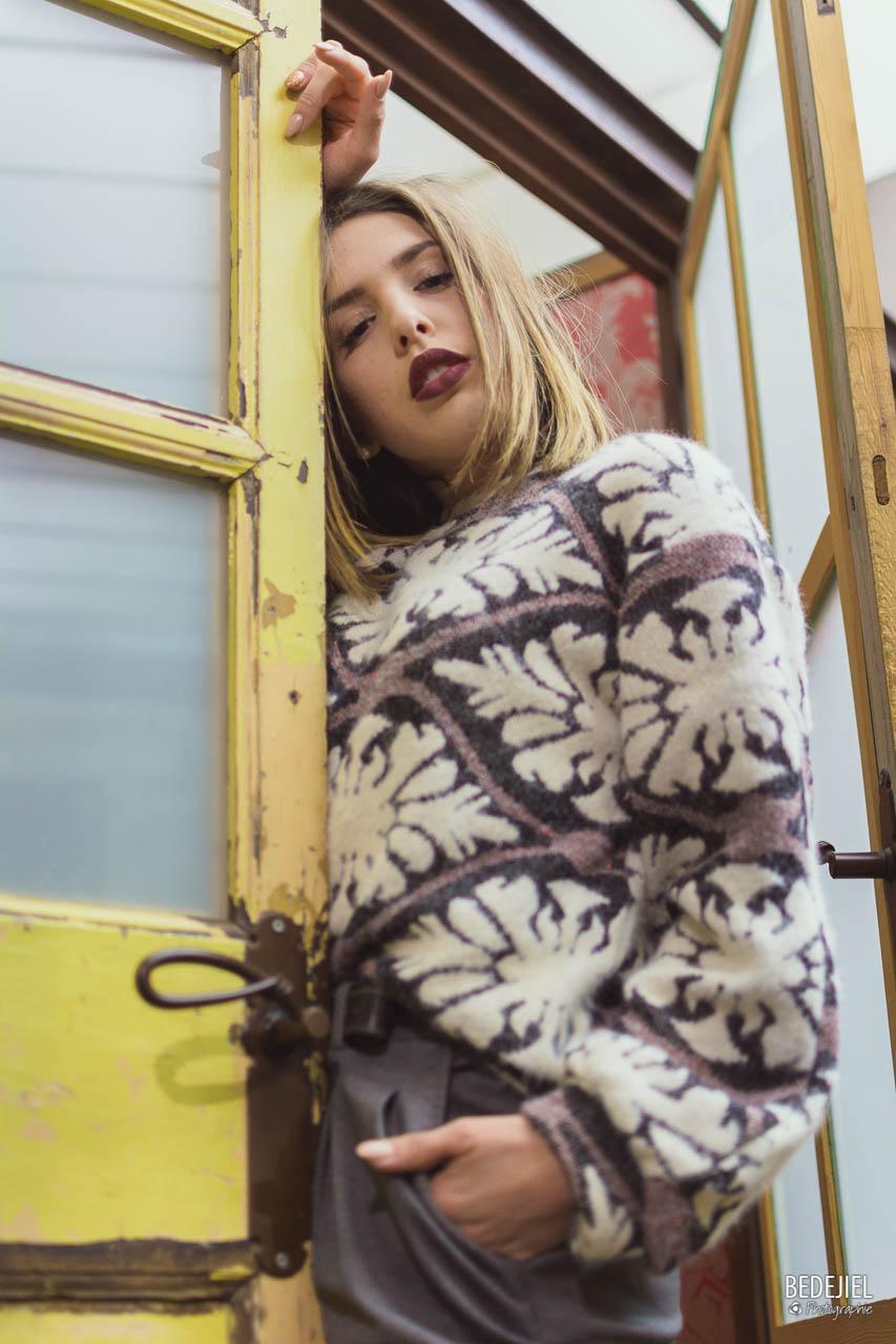 Portrait mode femme
