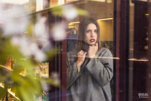 Portrait mode à travers une vitre