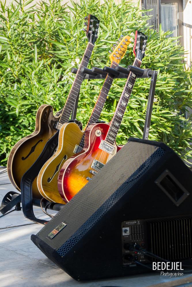 Guitare sur scène