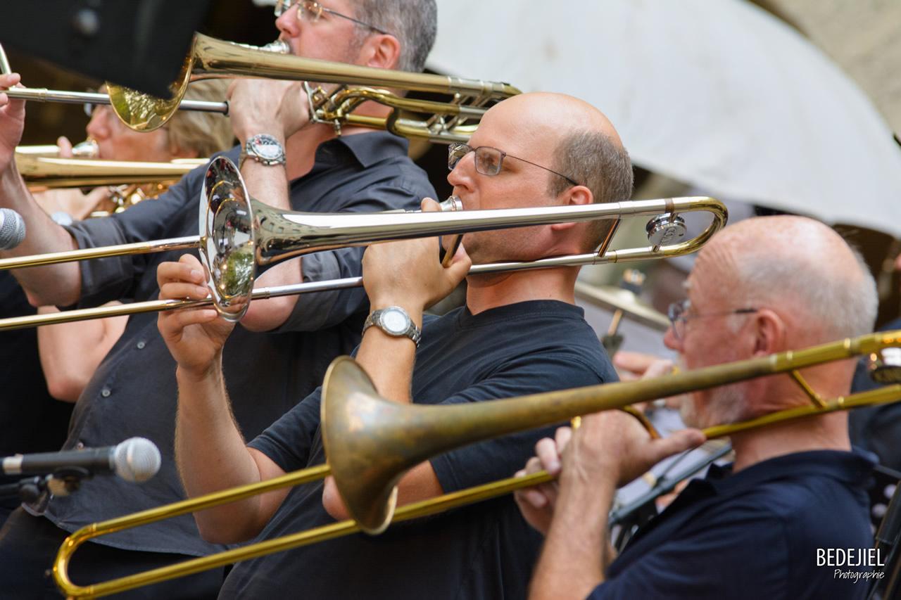 Portrait trompetiste concert jazz